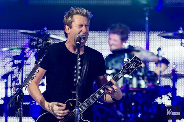 Le groupe Nickelback participera au spectacle-bénéfice«Fire Aid».... (Edouard Plante-Fréchette, Archives La Presse)