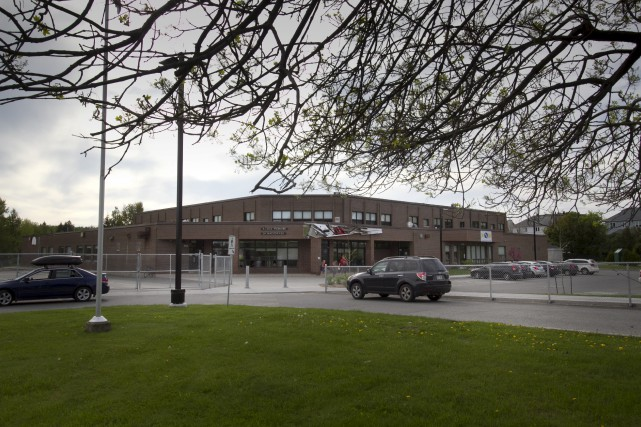 Tout comme l'an passé, l'école primaire La Maisonnée... (Spectre Média, René Marquis)
