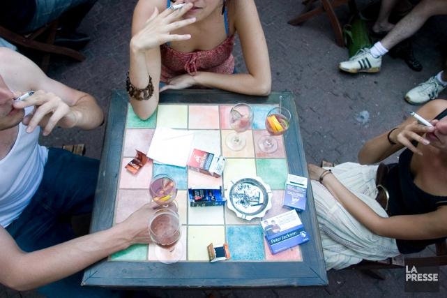 Avec la loi antitabac entrée en vigueur vendredi,... (Archives, La Presse)