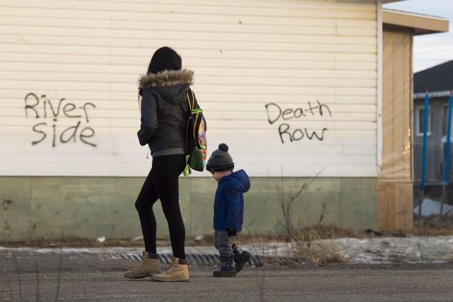 La vague de suicides survenue récemment à Attawapiskat... (Archives La Presse Canadienne)