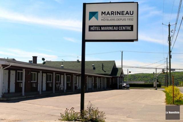 Les hôtels Marineau sont à vendre, dont celui... (Audrey Tremblay, Le Nouvelliste)