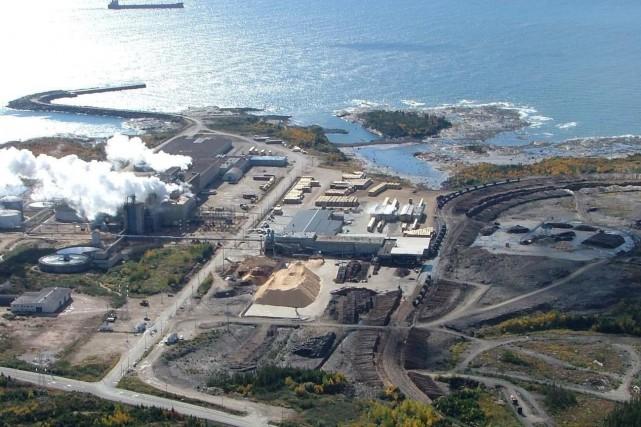 La future usine de biocarburant serait implantée près... (Fournie par la Corporation de développement économique de Port-Cartier)