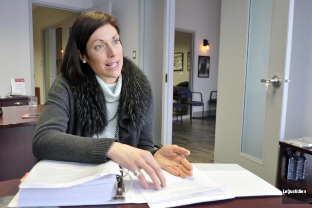 La députée Karine Trudel espère des programmes d'aide... (Photo Le Quotidien, Rocket Lavoie)