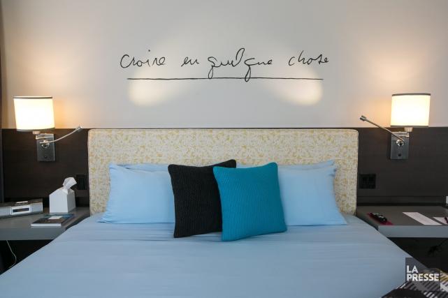 CHRONIQUE / Passer «juste une p'tite nuite» chez Dédé. L'offre de l'Hôtel 10... (Photo La Presse, Hugo-Sébastien Aubert)