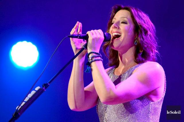 La chanteuse Sarah McLachlan fera son entrée au Panthéon de la musique... (Photo Érick Labbé, archives Le Soleil)