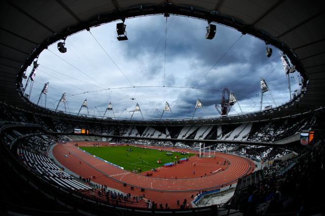 Le stade olympique de Londres lors des Jeux... (Photo Matt Dunham, archives AP)