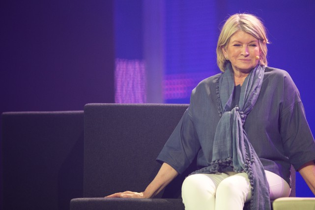 Martha Stewart, une des femmes entrepreneures les plus... (PHOTO OLIVIER JEAN, LA PRESSE)