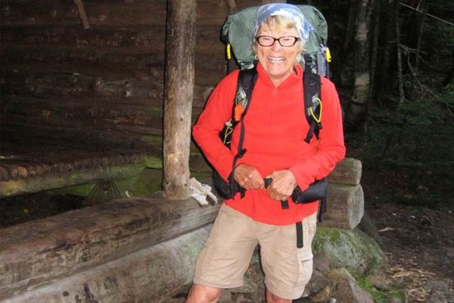 Perdue dans les montagnes du Maine, Geraldine Largaya... (Photo tirée de l'internet)
