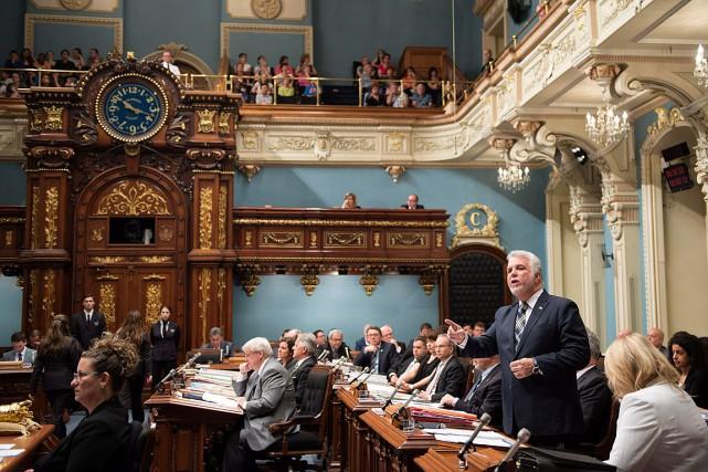 Des élus libéraux auraient fait part de leur... (Photo Jacques Boissinot, archives PC)