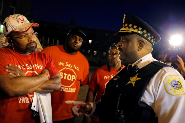 «Nous endurons beaucoup de violences à Chicago, mais... (PHOTO JIM YOUNG, ARCHIVES REUTERS)
