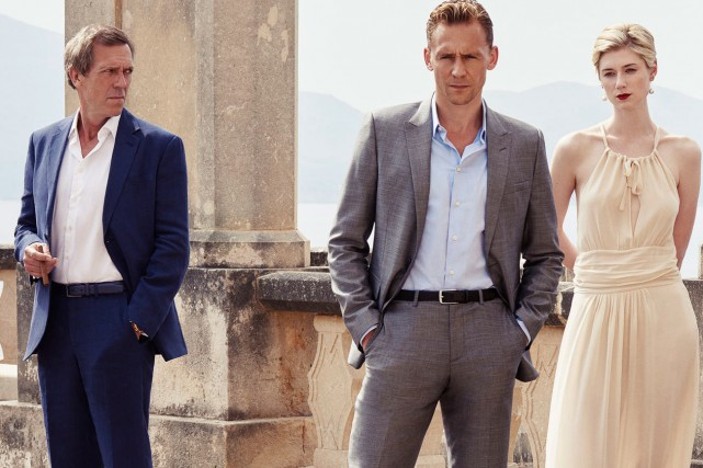Hugh Laurie (Richard Roper), Tom Hiddleston (Jonathan Pine)... (Photo fournie par AMC)