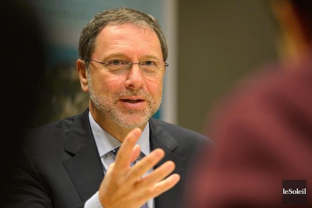 Le président-directeur général du CPQ, Yves-Thomas Dorval... (Photothèque Le Soleil, Yan Doublet)