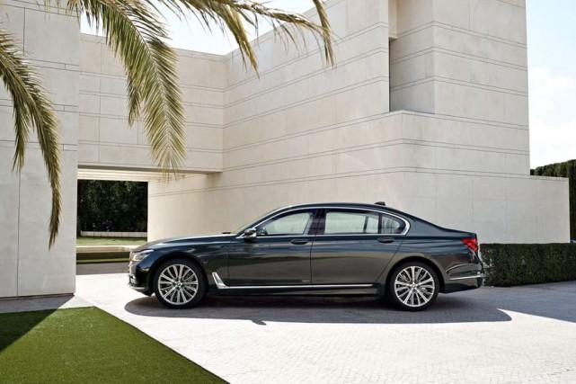 Qu'ont en commun cette BMW Série 750d et... (Photo : BMW)