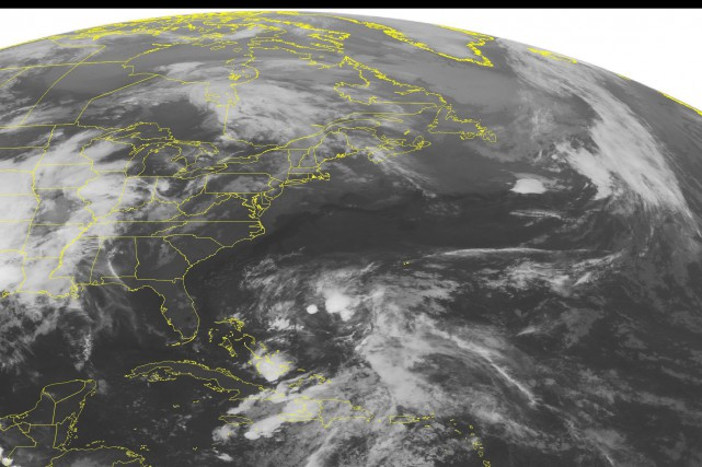 Selon les prévisions de la NOAA, il y... (PHOTO Weather Underground/AP)