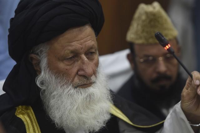 Le mollah Maulana Muhammad Khan Sherani,du Conseil de... (AFP, Farooq Naeem)
