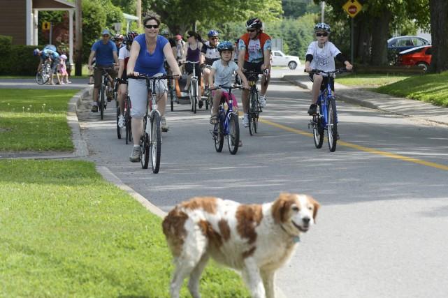 Tourisme Centre-du-Québec mise particulièrement sur le vélo pour... (Sylvain Mayer)