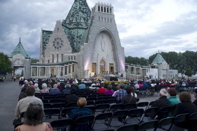 La messe en plein air reviendra au Festival... (Stéphane Lessard)
