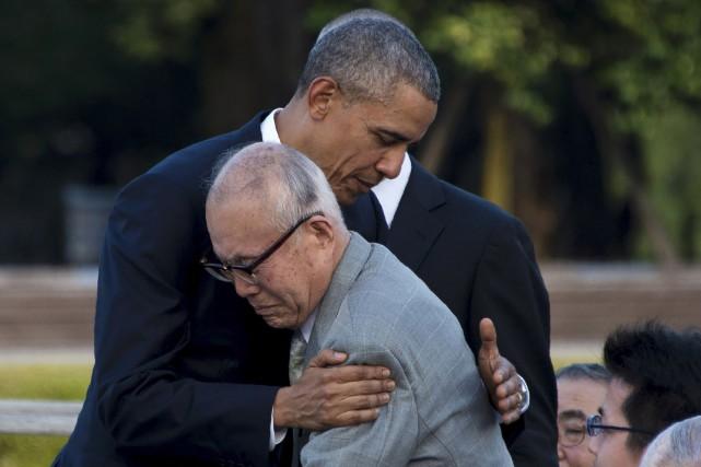 Un des moments forts de la cérémonie est... (AFP, Johannes Eisele)