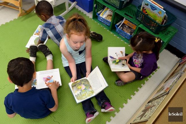 Est-ce que tous les enfants de quatreans devraient aller à la maternelle?... (Le Soleil, Erick Labbé)