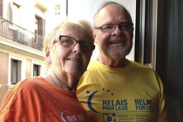 Jean Lemieux et son épouse Odette Jutras ont... (Courtoisie)
