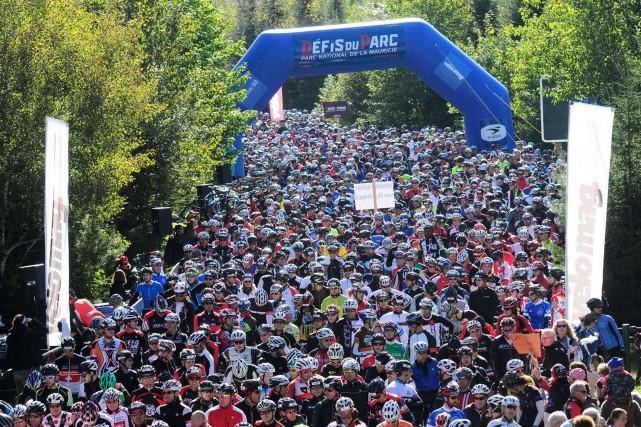 Les organisateurs des Défis du parc attendent 5000... (François Gervais)