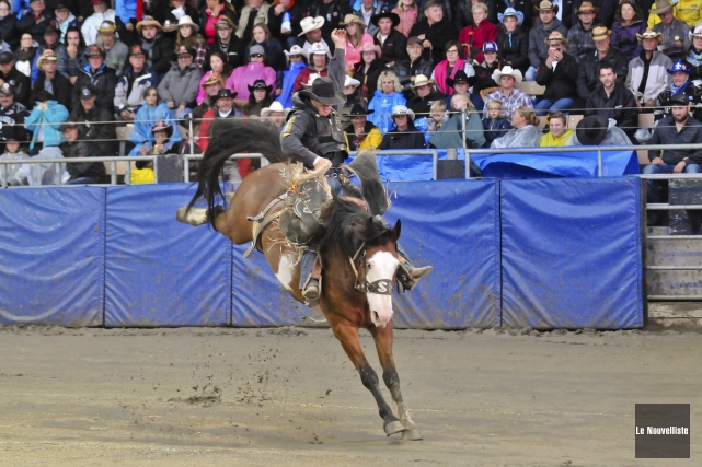 Les finales de l'IPRA (International Professional Rodeo Association)... (Archives Le Nouvelliste)