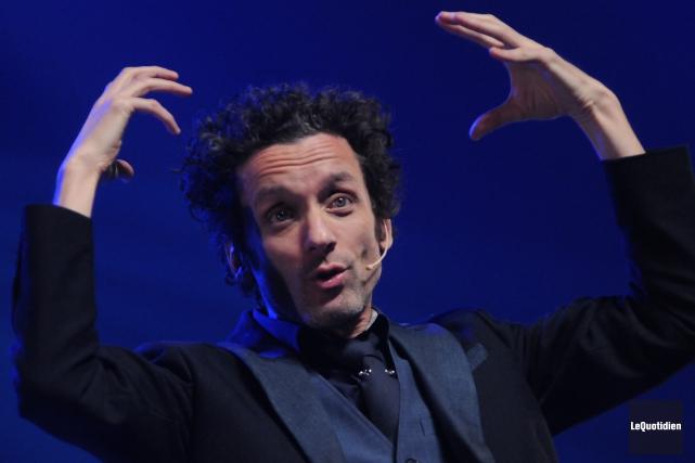 André Sauvé présentera le spectacle Être, samedi, à... (Archives Le Quotidien, Michel Tremblay)