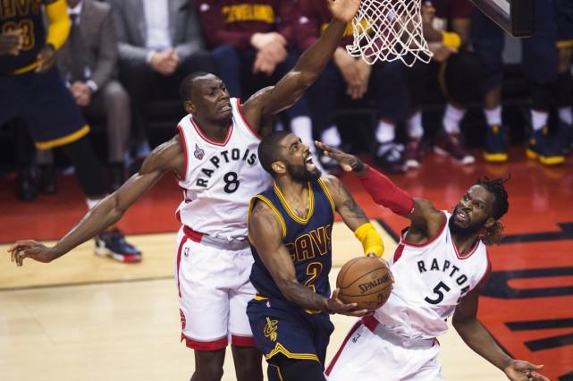 Les Raptors de Toronto ont été éliminés des séries de la NBA en raison d'une... (PHOTO LA PRESSE CANADIENNE)