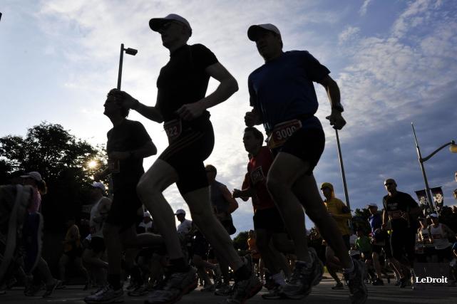 Plus de 47000 participants sont inscrits au six... (Martin Roy, Archives LeDroit)