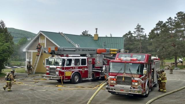 Le système de détection des incendies a été... (Spectre Média, René Marquis)