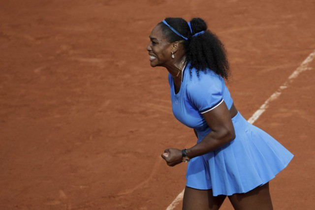 Serena Williams... (PHOTO MIGUEL MEDINA, AFP)