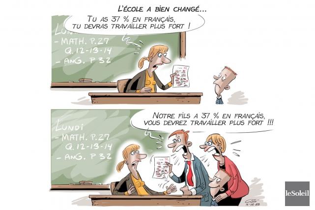 En reprise... (Le Soleil, André-Philippe Côté)
