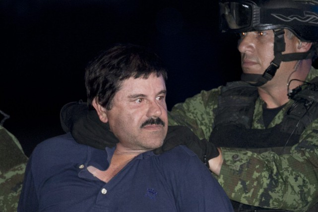 Le baron de la drogue Joaquin «El Chapo» Guzman... (PHOTO ARCHIVES AP)
