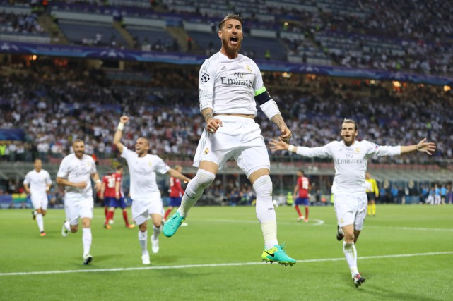 Sergio Ramos a joué un rôle important dans... (Photo Reuters)