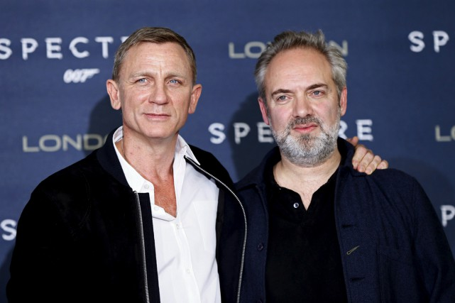 Daniel Craig et Sam Mendes.... (Photo Reuters)