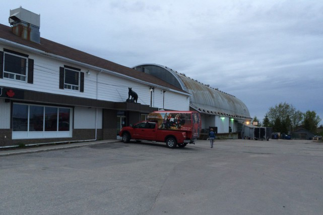 Un début d'incendie s'est déclaré chez Bilodeau Canada,... (Photo courtoisie)