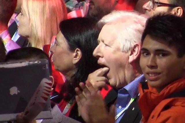 L'ancien chef intérimaire Bob Rae a été filmé... (Photo La Presse Canadienne)