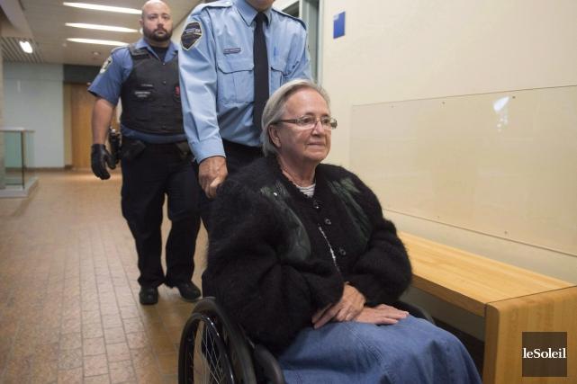 Lise Thibault a été condamnée à 18mois derrière... (Photothèque Le Soleil)
