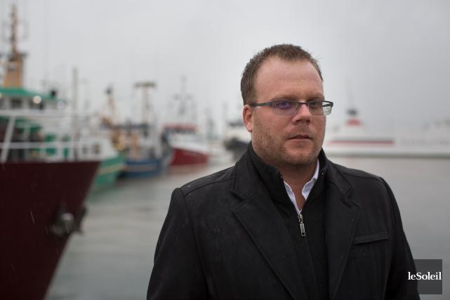 Le maire Jonathan Lapierre... (Photothèque Le Soleil)