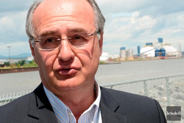 Le conseiller Paul Shoiry, de Démocratie Québec, sera... (Photothèque Le Soleil, Erick Labbé)