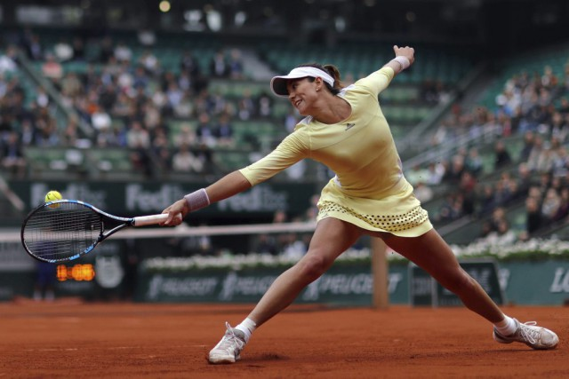 Garbine Muguruza... (PHOTO THOMAS SAMSON, AFP)