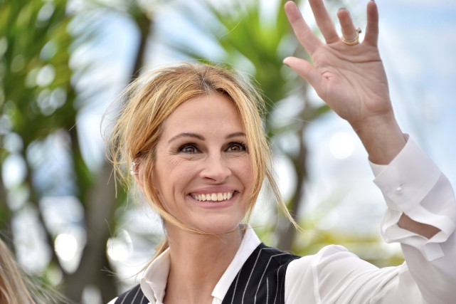 Julia Roberts au Festival de Cannes....