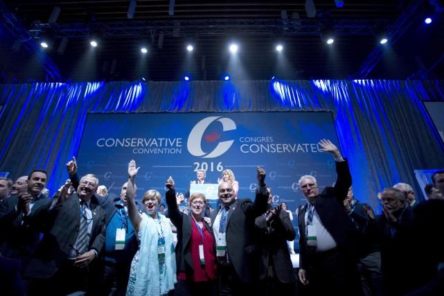 Selon les règles de la course, les candidats... (La Presse Canadienne, Jonathan Hayward)