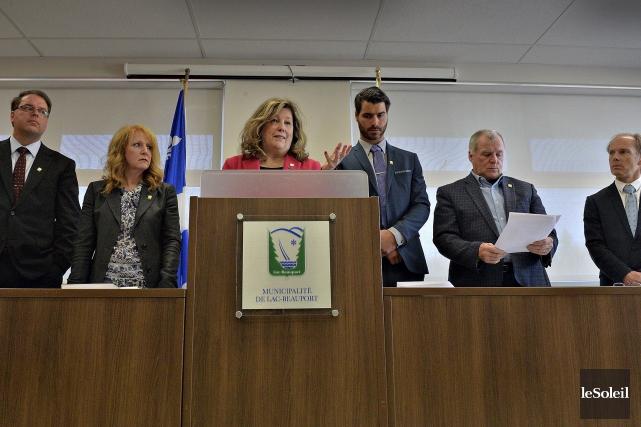 La mairesse de Lac-Beauport, Louise Brunet, a réitéré... (Photothèque Le Soleil, Patrice Laroche)