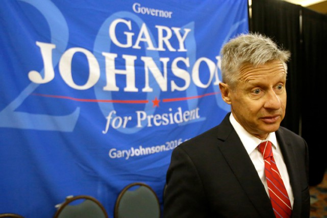 Gary Johnson... (PHOTO AP)