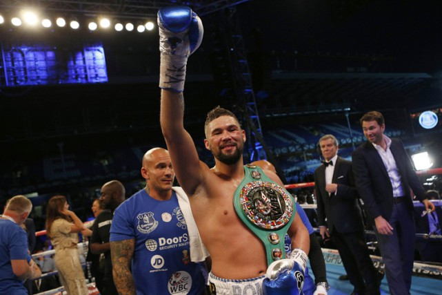 Tony Bellew... (PHOTO REUTERS)