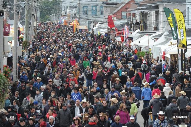 Le Festival western de Saint-Tite.... (Archives Le Nouvelliste)