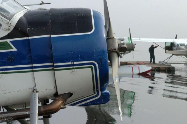 Le président de Bel Air Laurentien aviation, Fred St-Onge fils, assure que la... (Stéphane Lessard)