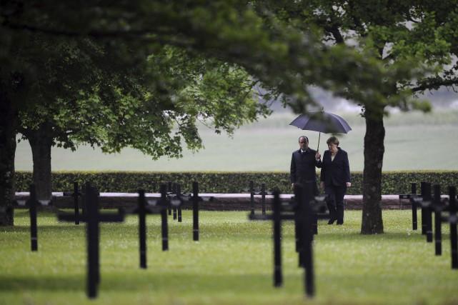 «Nous ne devons jamais oublier, ici surtout, que... (Associated Press)