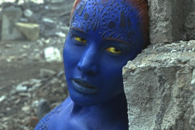 Jennifer Lawrence dans une scène deX-Men : Apocalypse... (AP)